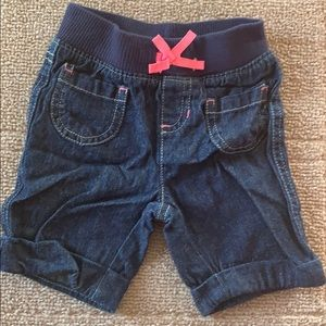 Jean Capris with Front Pockets